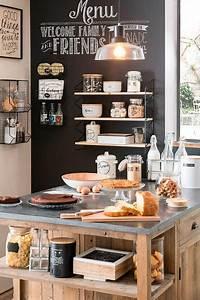 Deco Cuisine Bistrot : d coration cuisine esprit bistrot blog izoa ~ Louise-bijoux.com Idées de Décoration