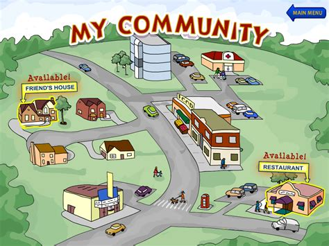 community pictures for preschoolers ssb my community section activity tailor 111