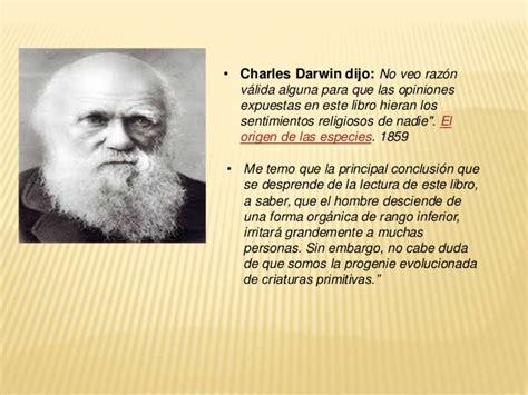 charles darwin resumen corto teor 237 as origen hombre quot creacionismo teor 237 a de lamarck y teor 237