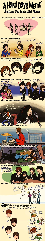 Beatles Meme - art beatles glockart