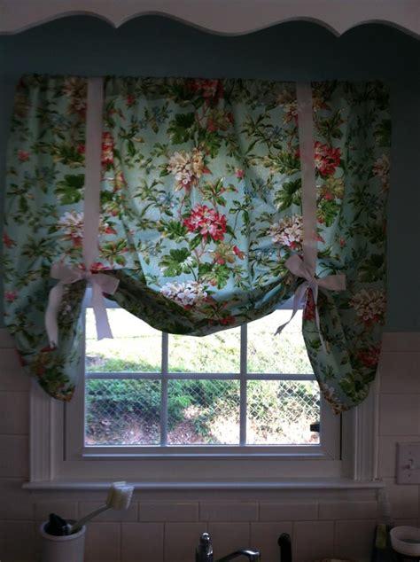 faith family  friends diy kitchen curtains