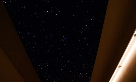 ciel étoilé chambre ciel étoilé chambre led et fibre optique plafond mycosmos