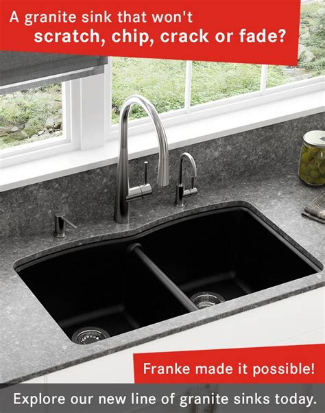 a granite sink that won t scratch chip or fade