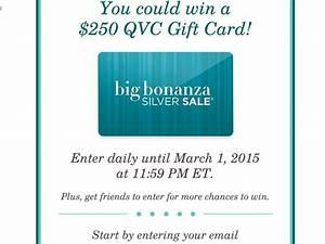 The QVC Big Bonanza Silver Sale Sweepstakes