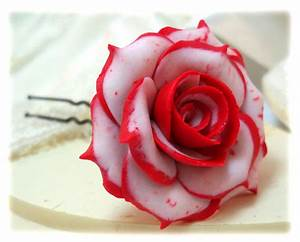 White Roses With Red Tips | www.pixshark.com - Images ...