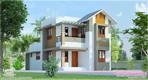 Small Villa Designs 1000 Square Feet Double Floor Kerala ...