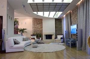 20, Modern, Living, Room, Designs, With, Stylish, Curved, Sofas