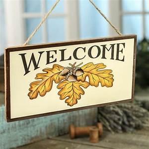 Autumn, U0026quot, Welcome, U0026quot, Sign