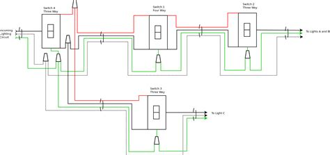 One Way Switch Wiring Diagram by Wiring Diagram For Two Way Switch One Light Volovets Info