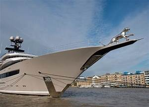 Huge 3D Printed Jaguar Hits The Sea On Billionaire39s Yacht