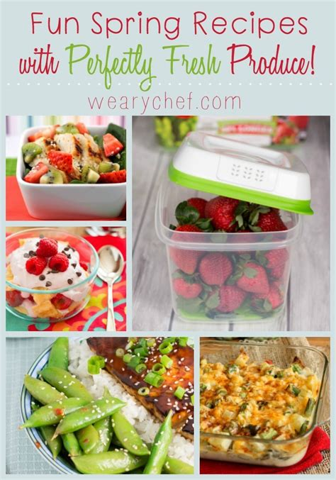 recipes using fresh spring recipes with fresh produce the weary chef