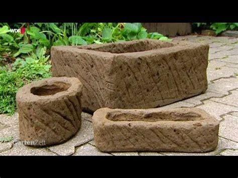 Mini Gewächshaus Selber Machen by Tutorial Pflanztr 246 Ge Selber Machen Mit Erde Im Zement