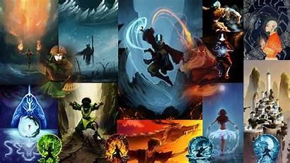 Airbender Avatar Last Wallpapers Aang 2160 Anime
