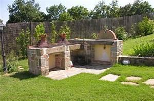 Barbecue De Jardin : des id es pour le coin barbecue dans le jardin ~ Premium-room.com Idées de Décoration
