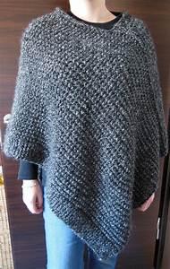 Modele De Tricotin Facile : poncho trico pinterest tricoter tricot et tricot facile ~ Melissatoandfro.com Idées de Décoration