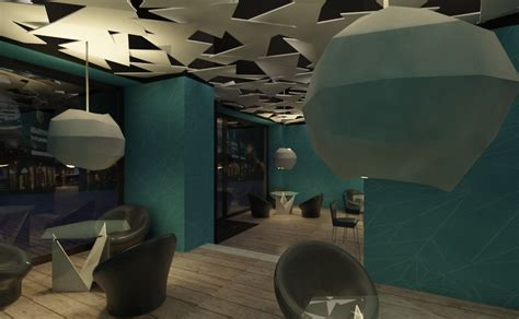 Project | Origami Bar | TRILINE STUDIO | Architecture ...
