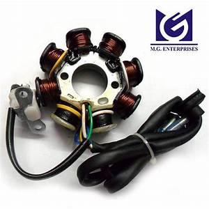 Coil Plate Assembly For Honda Dio