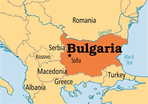 capital  bulgaria   map