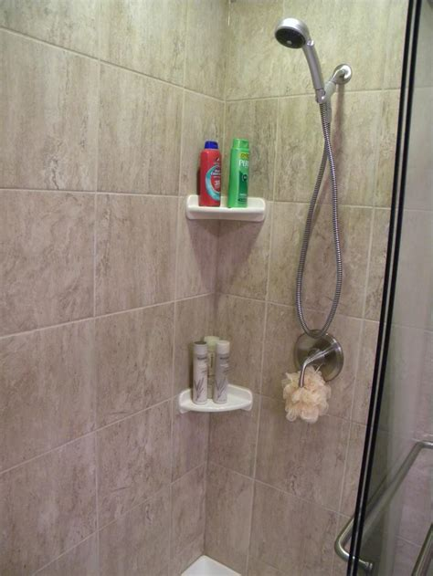 simple shampoo rack  shower homesfeed