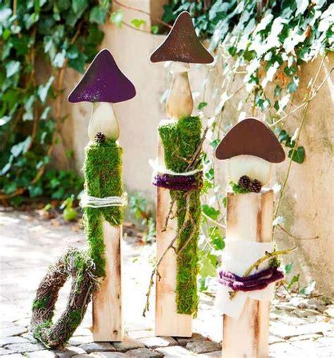 Garten Dekoration Holz by Gartendeko Aus Holz Selber Machen Home Ideen