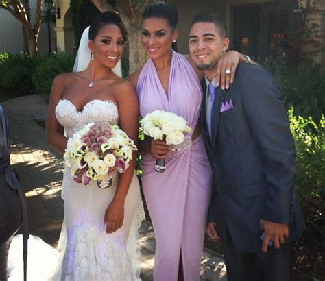 govan wedding laura gloria matt barnes basketball wives husband pregnant dress wife baller nba hitched ceremony thejasminebrand clippers jill again