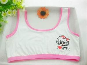 100% cotton young girls training bra 10 14 years old ...