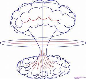 How to Draw a Mushroom Cloud, Step by Step, Tattoos, Pop ...