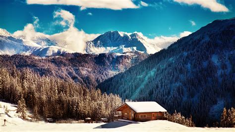 Top Winter Picture by 277 Cabin Hd Wallpapers Backgrounds Wallpaper Abyss