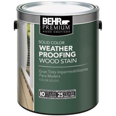 Behr Premium Deck Stain Drying Time by Behr Weatherproofing Wood Stain Time