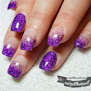 Black And Purple Nails French Tip   www.pixshark.com ...