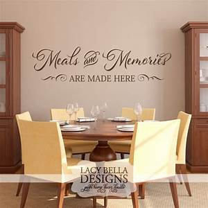 Best 25 dining room quotes ideas on pinterest rustic for Best brand of paint for kitchen cabinets with sayings wall art