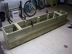 Comment Remplir Une Grande Jardinière : photo fabrication jardiniere en bois au jardin forum de jardinage ~ Melissatoandfro.com Idées de Décoration