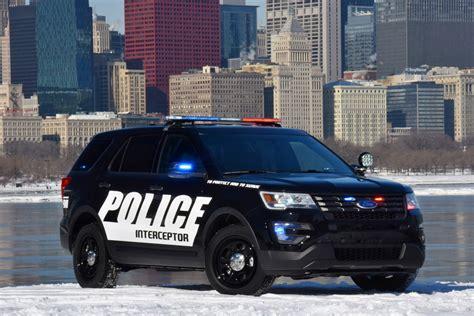 Ford Unveils 2018 Police Interceptor Utility