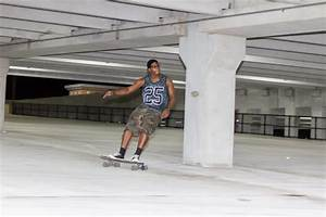Late-night skaters: what happens when the cars leave the ...