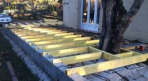 Lame De Bois Pour Terrasse : ceg toiture pose d 39 une ossature bois pour lame de ~ Premium-room.com Idées de Décoration