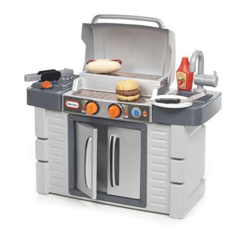 tikes kitchen with grill tikes cook n grow bbq grill walmart ca