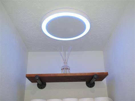 bathroom fan wbluetooth speaker light  blue nightlight   bathroom  making