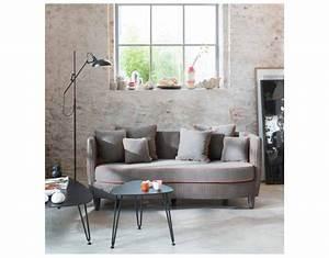 canape yoko 170 cm avec coussin d39assise catb interieur 202 With tapis de marche avec canape large assise angle