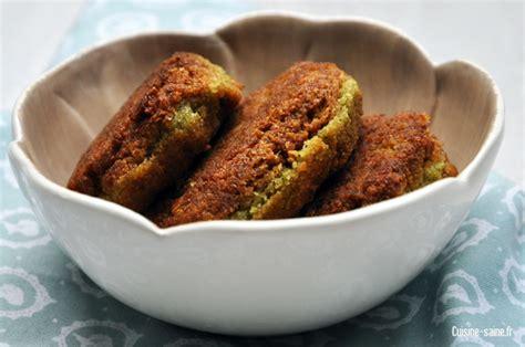 cuisine sans gluten sans lait recette bio végétalienne falafels pois chiche coriandre