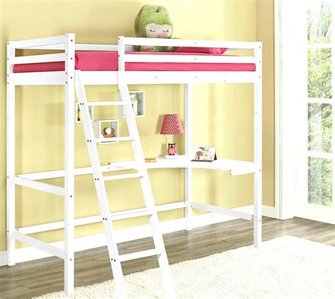Ebay Bunk Bed With Desk by High Sleeper Cabin Bed With Desk White Wooden Bunk