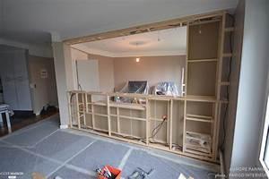 Separation Salon Chambre : cr ation d 39 une verri re chambre salon aurore pannier ~ Zukunftsfamilie.com Idées de Décoration