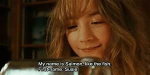 A taste of honey Lovely Bones/Desde mi cielo Susie Salmon