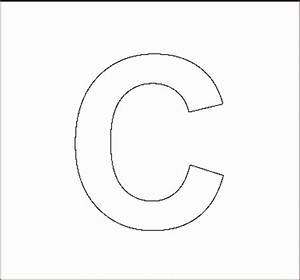 search results for cut out alphabet stencils free With large capital letter stencils