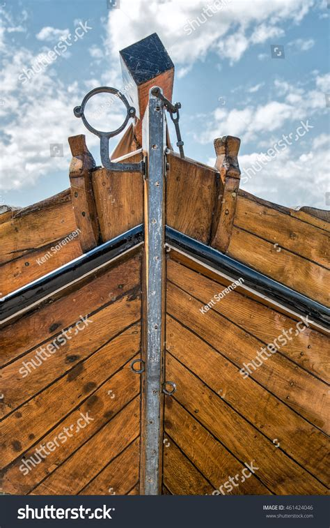 Bow Of Old Boat by Bow Of Old Dutch Boat Stock Photo 461424046 Shutterstock