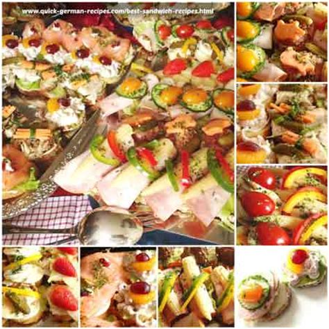 german canapes best sandwich recipes made just like oma