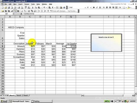 excel 2003 how to score well on an excel assessment test