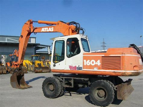 Mobile De Germany Used Cars by Atlas Mobile Excavator 1604 M 1997 Used For Sale