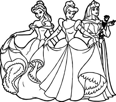 disney princess coloring page all disney princess coloring page wecoloringpage