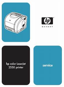 Hp Color Laserjet 2550 Service Manual Pdf Download