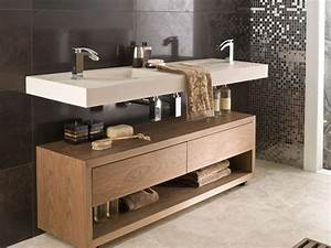 meuble salle de bain en teck et en bois moderne With meuble salle de bain teck colonial